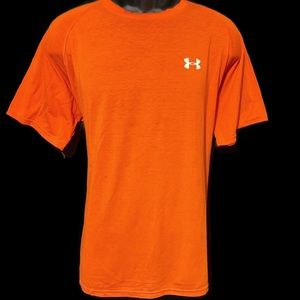 Under Armour Men's Red Short Sleeve T-Shirt